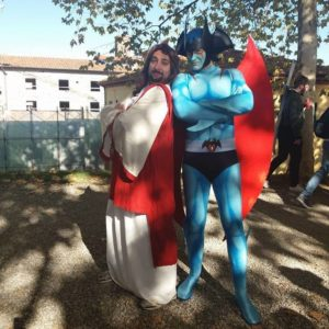 cosplayer al lucca comics