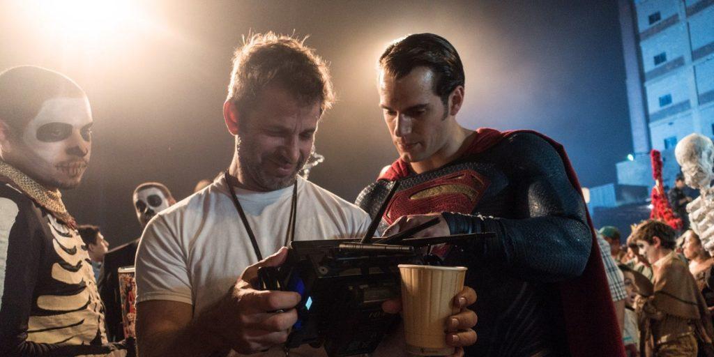 Zack Snyder e Henry Cavill