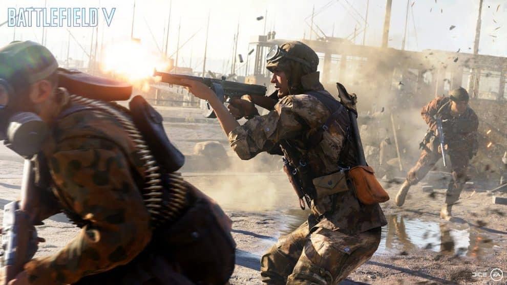 Battlefield V company