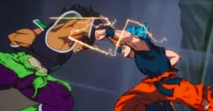 Broly vs Goku Blue