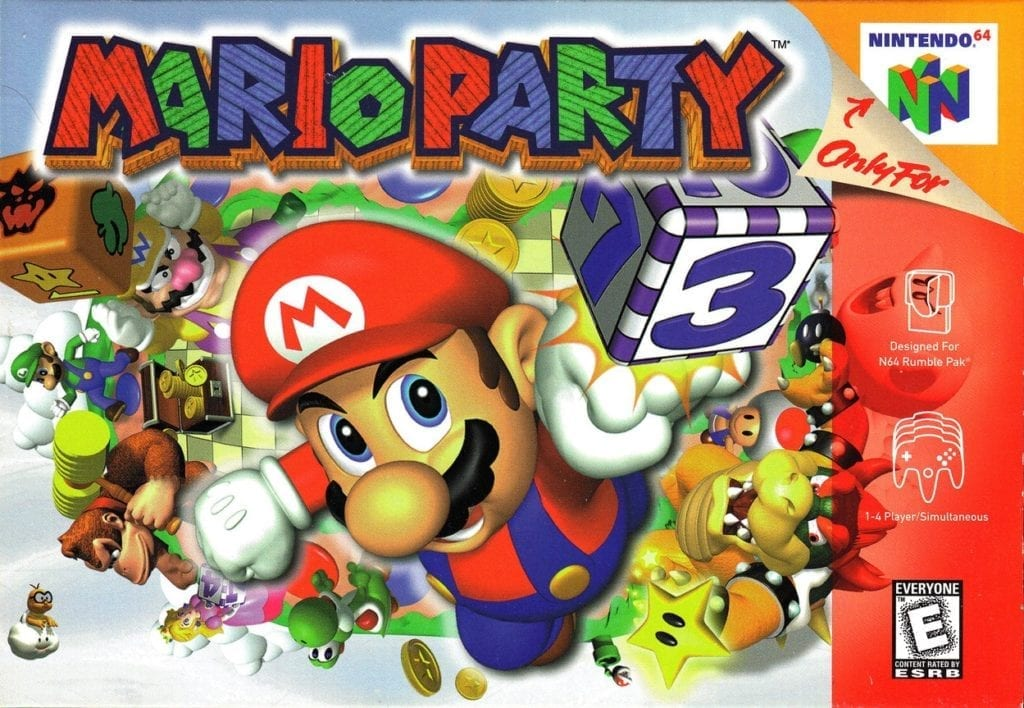 mario party 1998