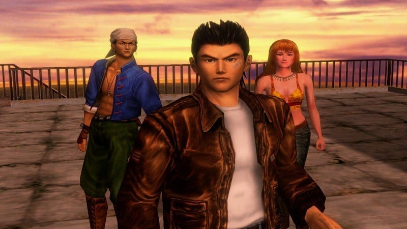 shenmue remastered hd