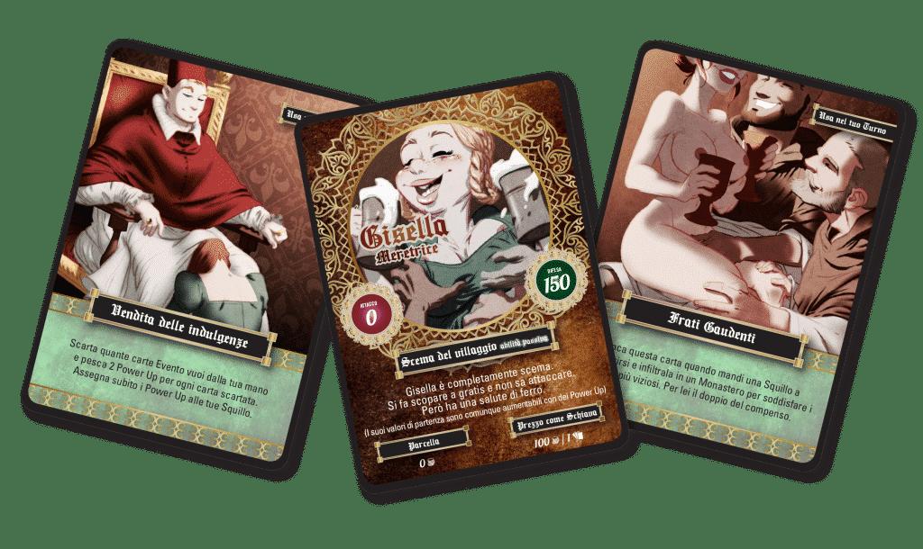 carte gioco squillo