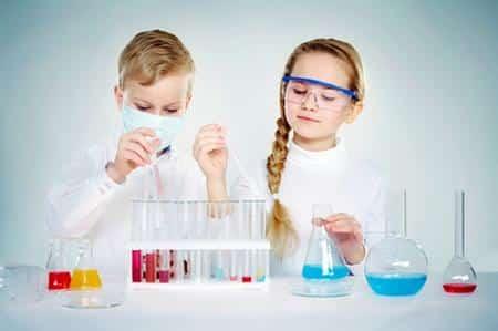 bambini scienza