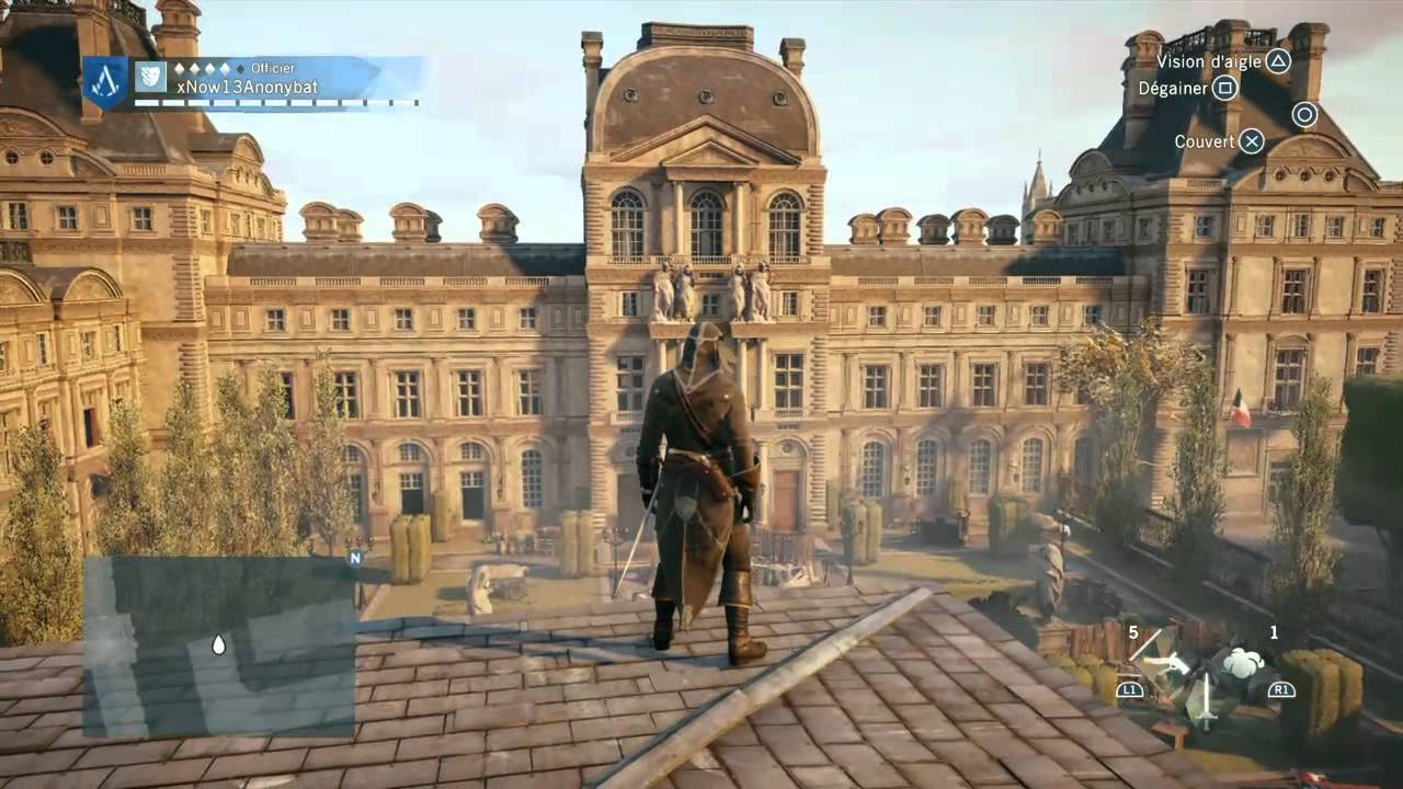 tg4 assassin's creed louvre