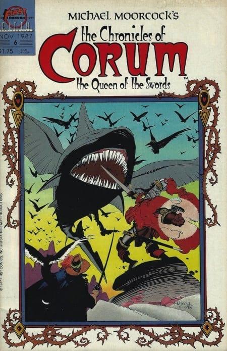 L'Editoriale Cosmo ha annunciato, sulla sua pagina Facebook, la pubblicazione di Le Cronache di Corum, scritto da Mike Baron (The Badger, Nexus) e disegnato da Mike Mignola.