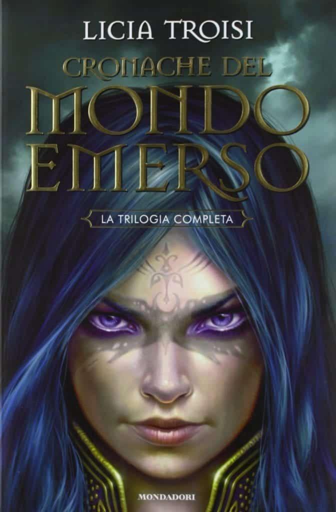 La copertina di uno dei libri de Le Cronache del Mondo Emerso (di Licia Troisi), si tratta di una delle tante Saghe Fantasy ad opera dell'autrice italiana
