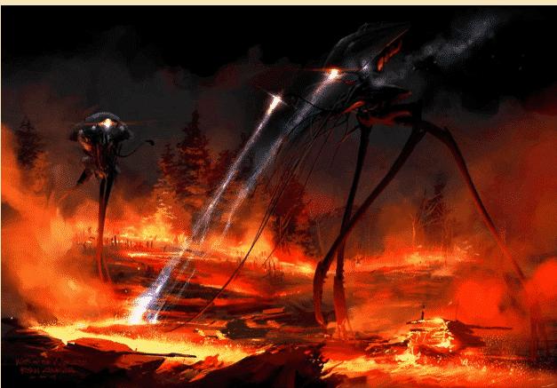 Marziani a Grovers Mills: guerra tra mondi della ...