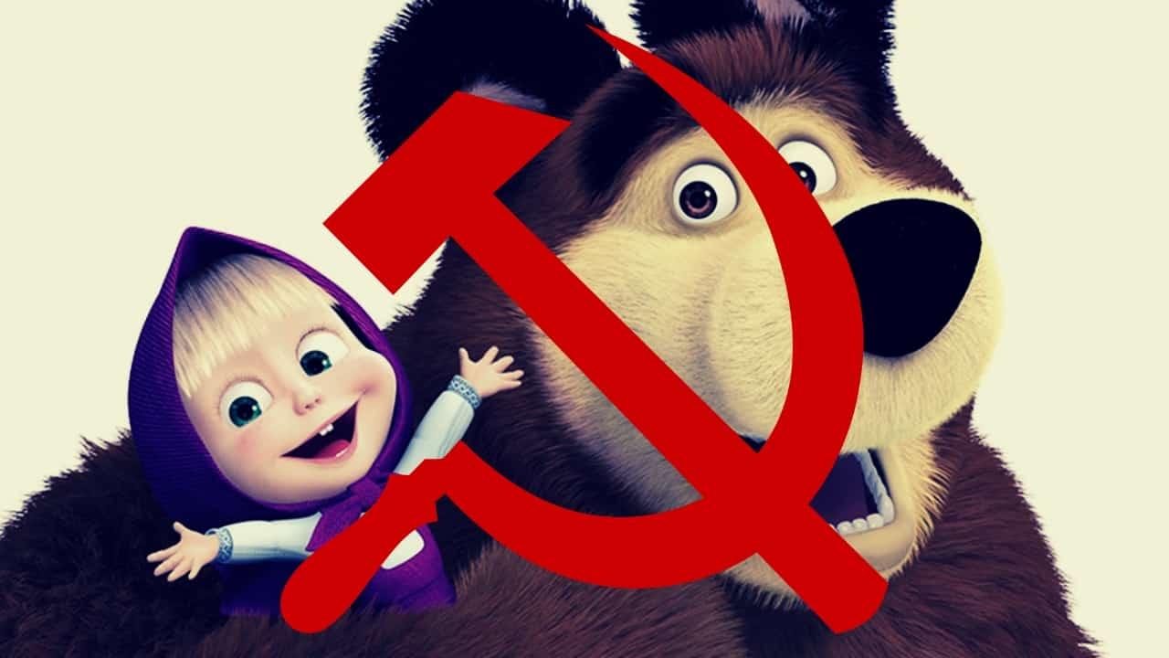 Masha e orso dalla russia il cartoon che insidia il primato di