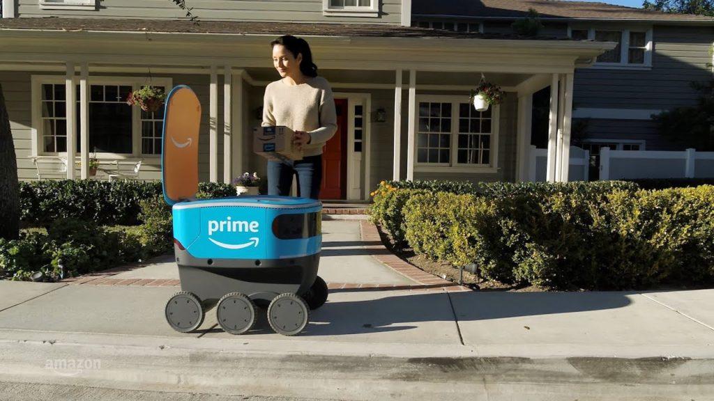 robot di amazon