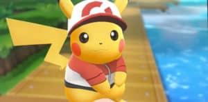 pikachu pokemon let's go