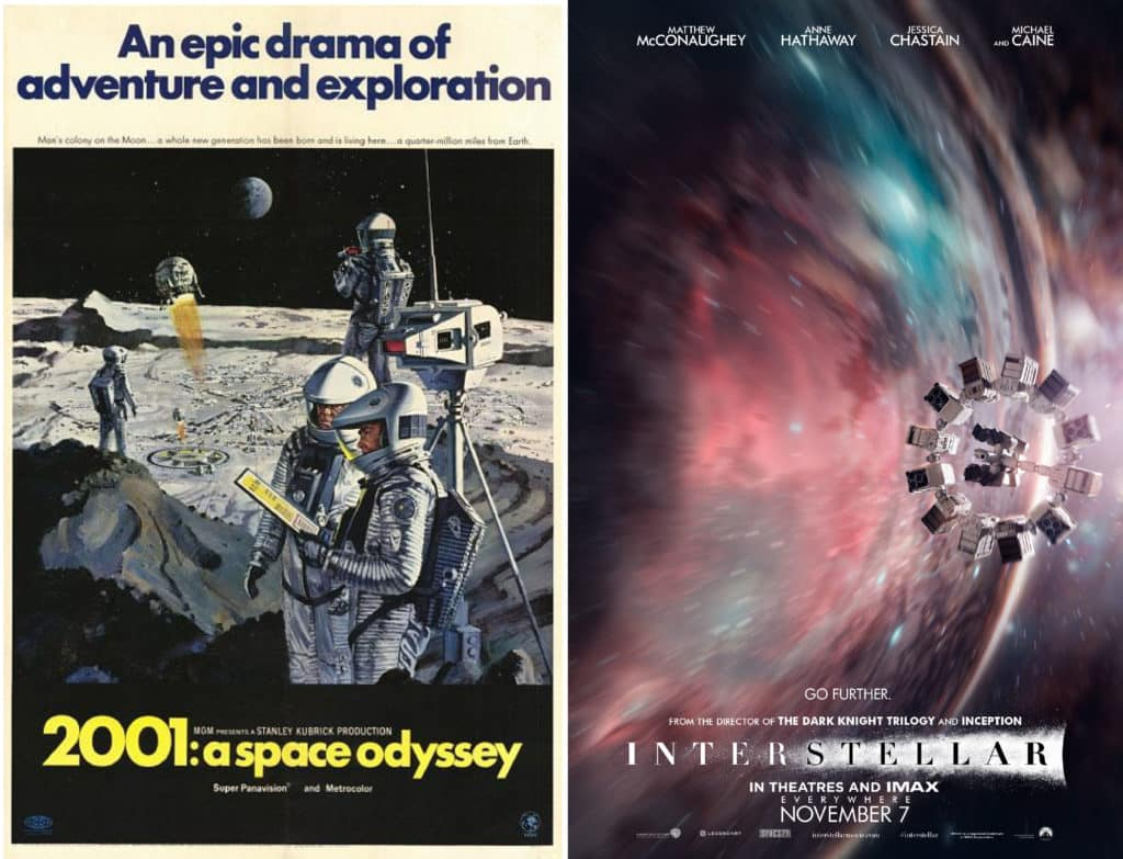 2001 odissea nello spazio e insterstellar