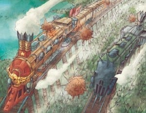 steampunk pirate's railroads