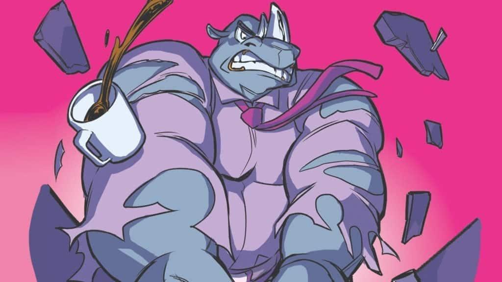 il rinoceronte di orgoglio nerd