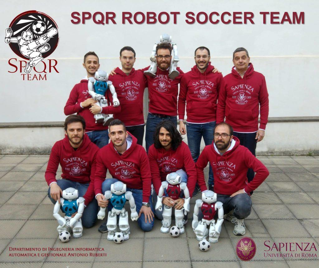 spqr robot soccer team