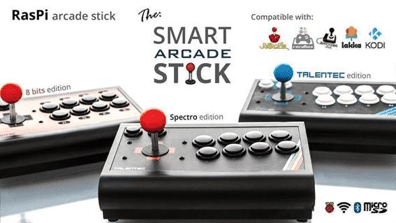RasPi Arcade Stick talentec