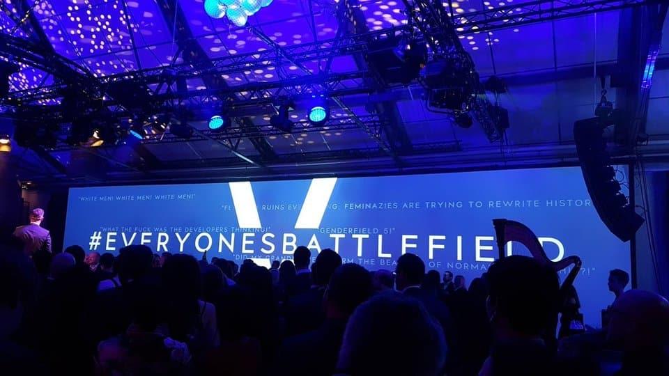 battlefield V genderfield V launch party stoccolma