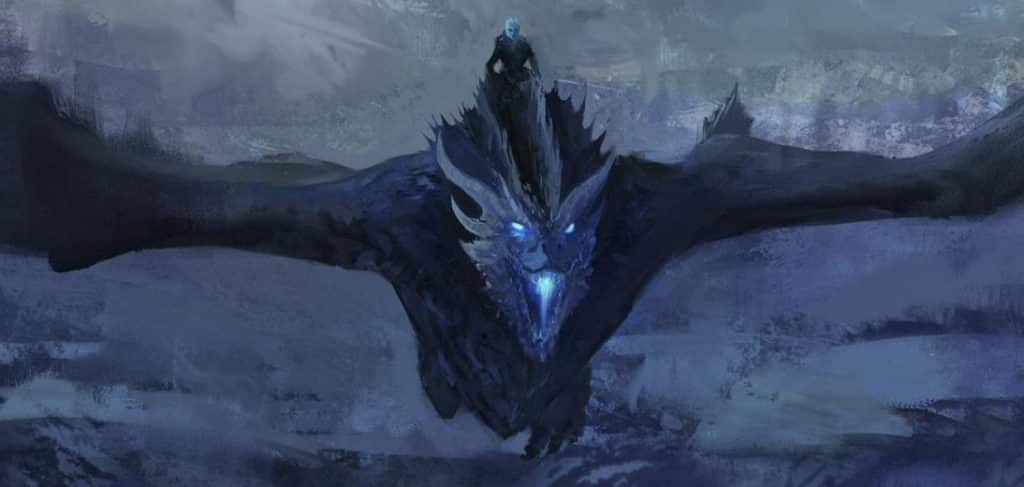 re della notte viserion