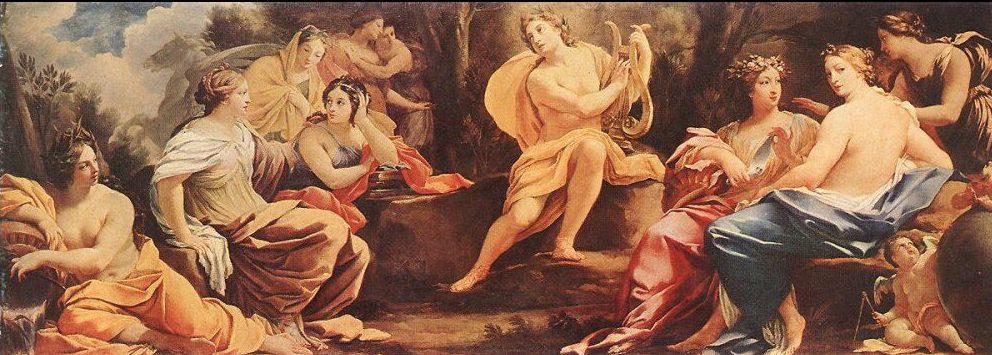 """Apollo e le Muse"""" diSimon Vouet"""